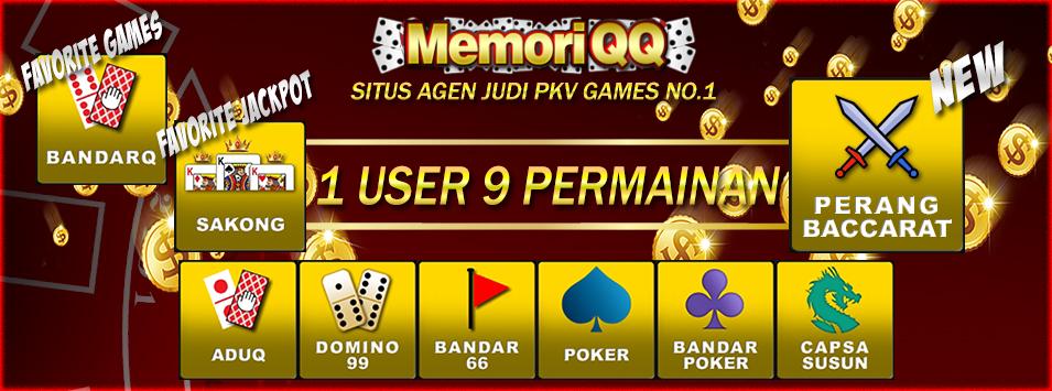 MEMORIQQ | JUDI ONLINE | DOMINOQQ | BANDAR POKER | SITUS POKER